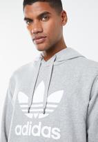adidas Originals - Trefoil hoodie - grey