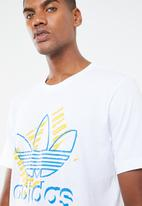 adidas Originals - Trefoil art short sleeve - white