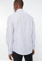 Pringle of Scotland - Mathis tailored shirt - navy & white