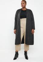 Superbalist - Longer length cardigan - charcoal