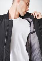 Cotton On - Airforce bomber jacket - black