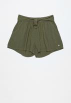 Roxy - Little mind short - khaki green