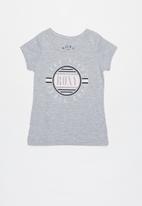 Roxy - Dream another dream tee - grey