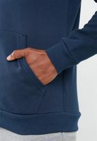 Under Armour - Rival fleece full zip hoodie - navy