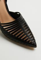 Footwork - Stiletto heel - black