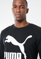 PUMA - Classics logo crewneck sweatshirt - black