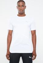 PUMA - Ignite short sleeve tee - white