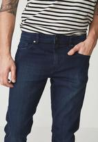 Cotton On - Washed slim fit jean - navy