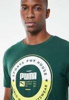 PUMA - Puma execution tee - green