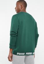 PUMA - Amplified crew neck sweatshirt - green