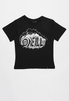 O'Neill - Surf spit tee - black & white