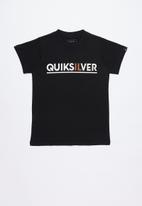 Quiksilver - Opposite attract tee - black