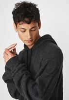 Cotton On - Hooded sweater knit - black