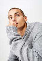 Cotton On - Hooded sweater knit - grey