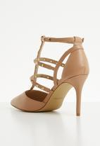ALDO - Caged heel - beige