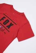 Fox - Team 74 tee - red