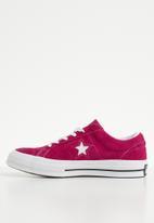 Converse - One Star OX - pink pop/white/white