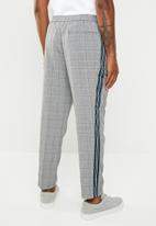 New Look - POW check chino - grey