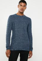 Only & Sons - 12 Structure long sleeve top - blue