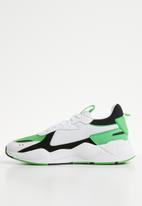 PUMA - RS-X Reinvention - Puma white-Irish green