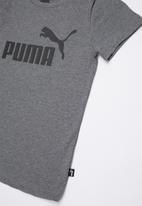 PUMA - Ess logo tee - grey