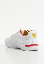 PUMA Select - California Drive Thru - Puma white-high risk red-blazing yellow
