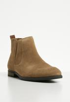 Call It Spring - Suede ankle boot - tan