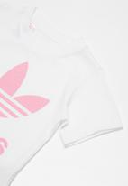 adidas Originals - Kids I trf tee - white & pink