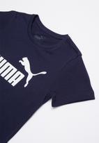 PUMA - Ess logo tee - navy