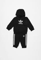 Adidas - Trefoil tracksuit adidas - black & white