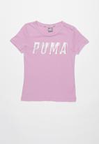PUMA - Style graphic tee 1 g - purple