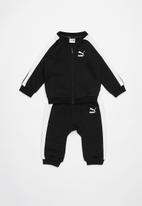 PUMA - Minime prime t7 fz jogger cotton - black & white