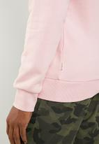 Jack & Jones - Logo sweat hoodie - pink
