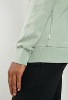 Jack & Jones - Logo sweat hoodie - green