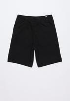 PUMA - Sweat bermuda shorts - black