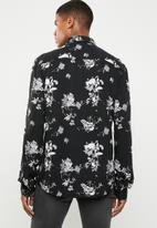 Jack & Jones - Lance shirt long sleeve - black