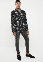 Jack & Jones - Lance shirt long sleeve - black