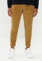 Jack & Jones - Ace milton corduroy akm pants - brown