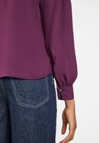 Superbalist - Choker detail blouse - purple
