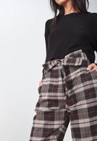 Cotton On - Shannon check pants - multi