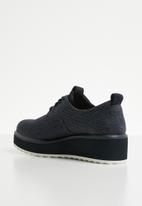 G-Star RAW - Strett flatform derby denim - dark saru blue