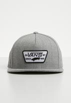 Vans - Full patch snapback - grey