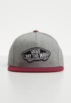 Vans - Full patch snapback - grey & maroon