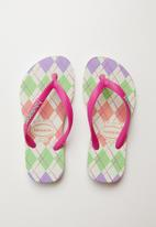 Havaianas - Retro slim fashion flip flops - multi