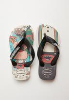 Havaianas - Kids cartoon flip flops - beige