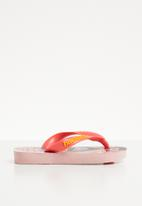Havaianas - Kids cartoon flip flops - pink