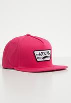 Vans - Full patch snapback - pink