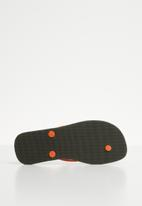 PUMA - First flip jr dp forest night - black & orange