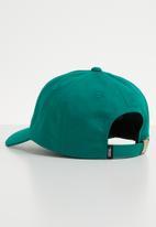 Vans - Curved bill jockey cap - green