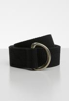 Superbalist - Long length utility belt - black